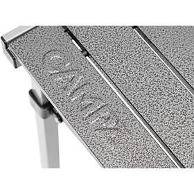 CAMPZ Mesa Plegable Aluminio 107x70x70cm, black/grey